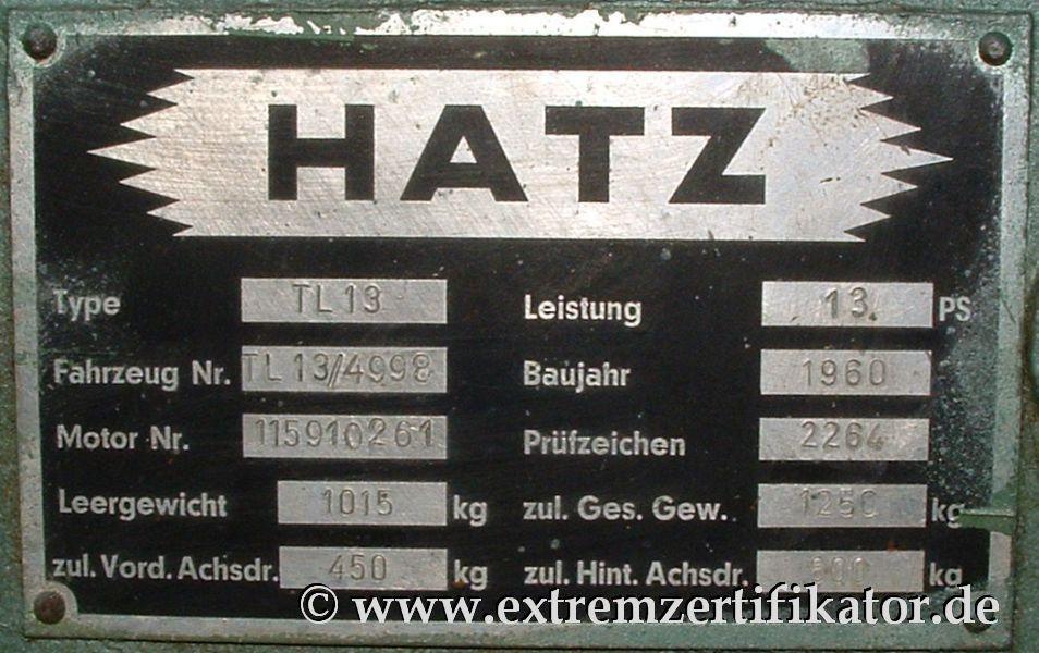 Www Extremzertifikator De Hatz Tl13 Die Bilder